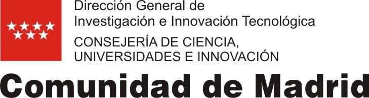Resultado de imagen de dirección general de investigación consejería educación comunidad de madrid